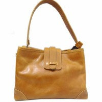 [L] Tas bahu wanita kulit sapi asli sling bag leather kuliah kerja