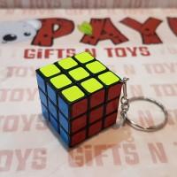 Gantungan Kunci Rubik 3x3 keychain rubik