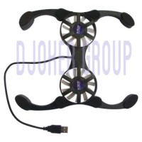 Cooling pad Laptop portable / Kipas Laptop model Kepiting
