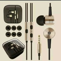 TERMURAH !! Mi Xiaomi Piston 2 Headset/Earphone In-Ear -Emas.
