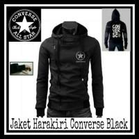 Jaket Harakiri Distro Converse Black