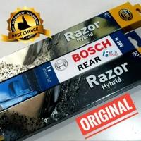Paket Wiper Depan Belakang Mitsubishi Outlander Sport HELLARazor BOSCH