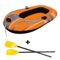 Bestway Hydro Force Raft 155cm + Dayung Frech Paket Perahu Karet Anak
