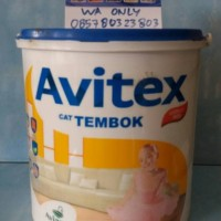 Avitex Emulsion 5 Kg/ Cat Tembok Plafon Exterior Interior(Gojek OnLy)