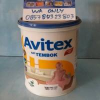 Avitex Emulsion 1kg / Cat Tembok Plafon Interior Exterior