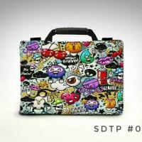 Doodle art full colour 10inc & 11-12 inch softcase taslaptop notebook