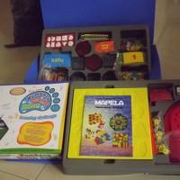 Paket matematika pemula (2 box set matematika pemula + papan peraga)