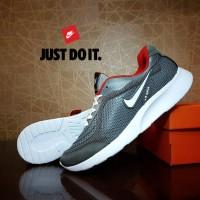 Sepatu Casual / Sepatu Olahraga /  Sepatu Nike Running Men Air abu