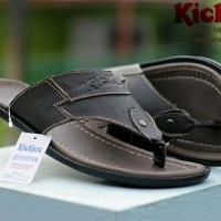 sandal pria kickers middle concept 3 warna sz 39-43 leather