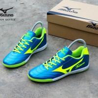 sepatu futsal mizuno fortuna hijau premium size.38-44