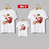 kaos natal couple family anak dan dewasa