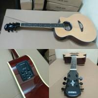 Gitar akustik elektrik Yamaha Apx 500ii Natural gloss