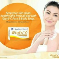gluta c intens whitening & anti aging soap 60gr
