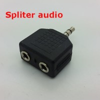 "Converter Double Stereo 3,5/ splitter audio 3.5"" for SMULE"