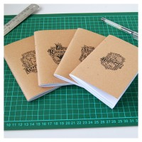 Pocket Mini Notebook Notes Kraft Harry Potter Series
