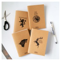 Pocket Mini Notebook Notes Kraft Game of Thrones