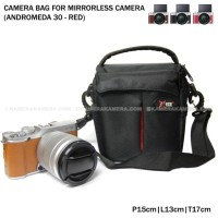 Camera Bag for Mirrorless Camera - Andromeda 30 (Red) for FujiFilm X