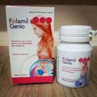 FOLAMIL GENIO, vitamin ibu menyusui dan hamil