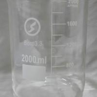 Gelas Beaker (Kimia) 2000ml