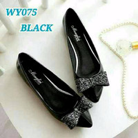 | CHANTIQUE | Sepatu Wanita Flat Shoes Pita Gliter SDB79 A122