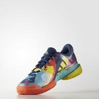 Sale ORIGINAL Adidas Barricade 2017 Pop Art Sepatu Men Tennis BA9105 K