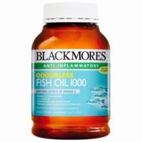 Blackmores Odourless Fish Oil minyak ikan 1000 Isi 400 kapsul