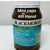 harga promo Blackmores Odourless Fish Oil Mini Caps 400 Kapsul