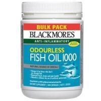(Murah) Blackmores Odourless Fish Oil 1000mg 500 kapsul
