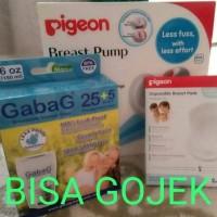 Paket Murah Pigeon Pompa Asi + Gabag Kantong Asi/Storage Bag