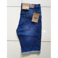 Celana Pendek Jeans Stretch/Pria/Wanita/Stikbalik Hurider