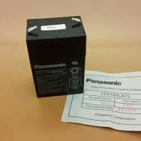 Baterai PANASONIC Asli Original Aki Kering Accu 6volt 6 volt 6v 4.5Ah