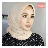 Jilbab segiempat polos/Hijabsegiempat polos BELLA SQUARE
