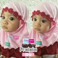 Jilbab Bayi MM | Bergo Baby PRALALA| Baju Muslim Anak Jilbab Instan
