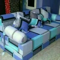 Sofa bed multifungsi inoac uk.200x180x20