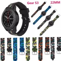 Samsung Gear S3 Frontier classic loreng camouflage strap