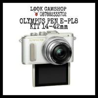 OLYMPUS PEN E-PL8 EPL8 EPL 8 E PL 8 E PL8 KIT 14-42mm - WHITE PUTIH