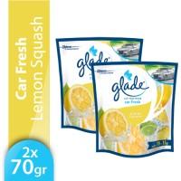 [Twin Pack] Glade Car Lemon Refill 70gr x 2pcs