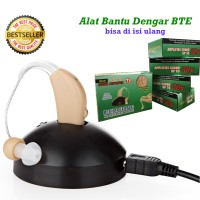 Alat Bantu Dengar Hearing Aid BTE Isi Ulang Recharge