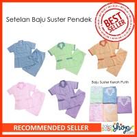 Setelan Baju Suster Pendek S/M/L