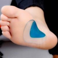 silicone kaki, insole flat foot corrector, gel sepatu, support gel,