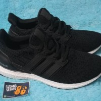 Sepatu Adidas Ultraboost 4.0 Black White - Premium Quality