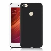 Tpu Case Slim Black Matte Oppo F5 Softcase Anti minyak