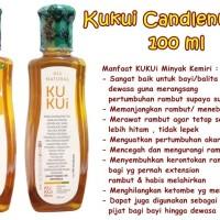 MINYAK KEMIRI KUKUI / KUKUI CANDLENUT OIL 100 ML