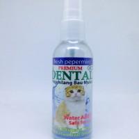 premium dental cat 60ml penghilang bau mulut kucing