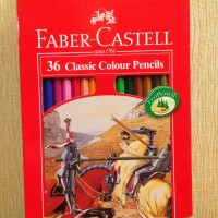 Pensil Warna Faber-Castell 36 Classic Colour
