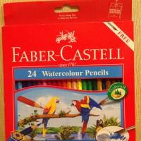 Pensil Warna Faber-Castell 24 Watercolour