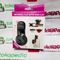 fish eye mata ikan kamera camera hp universal clip super wide 1 lensa
