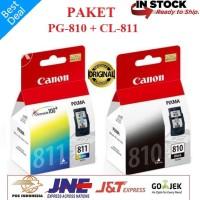 Paket Tinta CATRIDGE CANON PG-810 Dan CL811 Balck Color