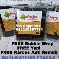 Manjun Yaki Sushi Nori Rumput Laut Seaweed 50 Sheet, Best Seller!
