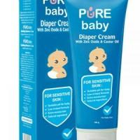 PERLENGKAPAN BAYI    Pure Baby Diaper Cream Rash 100 gram    HARGA